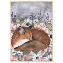 That's Mine Affisch Flower Field Fox