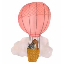 That's Mine Wall Stories Hot Air Balloon Rose