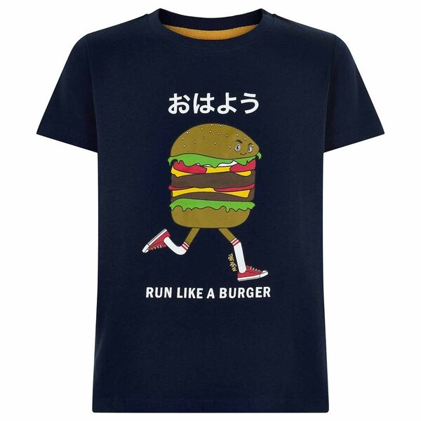 The New Urger T-shirt Navy Blazer