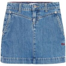 Tommy Hilfiger Denim Kjol Medium Blå Stretch