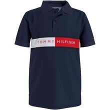 Tommy Hilfiger Flag Polo T-shirt Twilight Navy