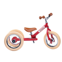 Trybike in Steel 3 Wheels Vintage Red