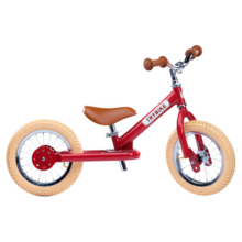 Trybike in Steel 2 Wheels Vintage Red